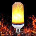 لامپ شعله ای  اتشی ۲۲۰ولت